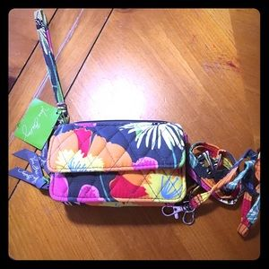 Retired Vera Bradley All in One Crossbody
